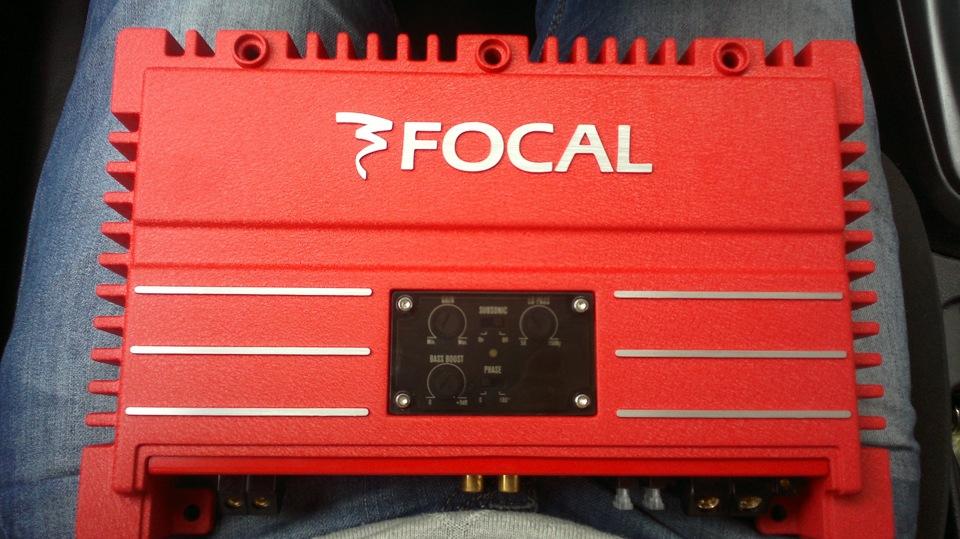 Цифровой усилитель — Focal Solid 1 Red