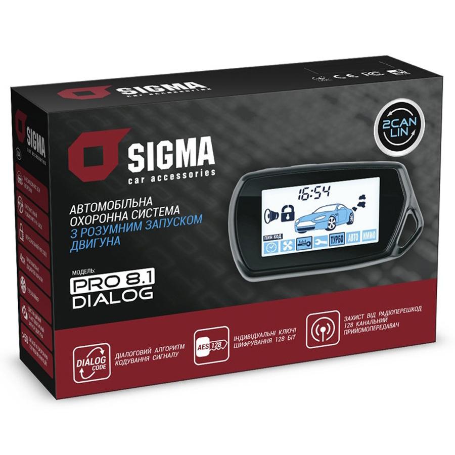 Автомобильная охранная система SIGMA PRO 8.1 CAN