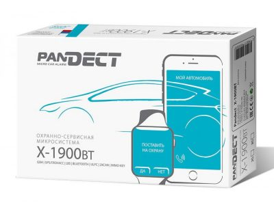 Купить Автосигнализация Pandect X-1900 BT GSM/GPRS/GPS/Bluetooth-сигнализация