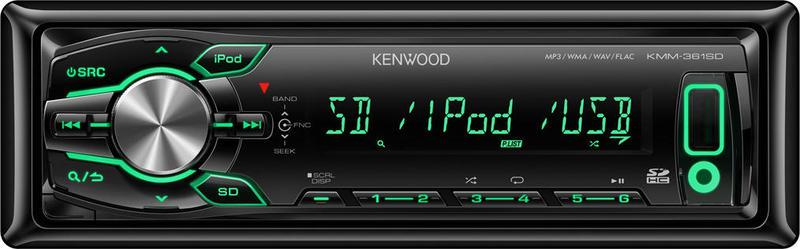 Автомагнитола Kenwood KMM-361SD