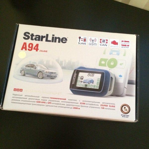 Автосигнализация StarLine A94 / Сигнализация Старлайн А94
