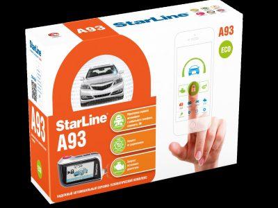 Автосигнализация StarLine A93 GSM / сигнализация Старлайн А93 ЖСМ