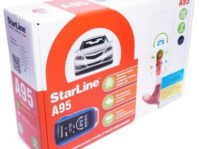Автосигнализация StarLine A95 GSM / Сигнализация Старлайн А95 ЖСМ