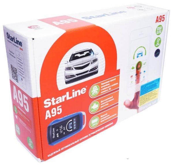 Автосигнализация StarLine A95 / Сигнализация Старлайн А95