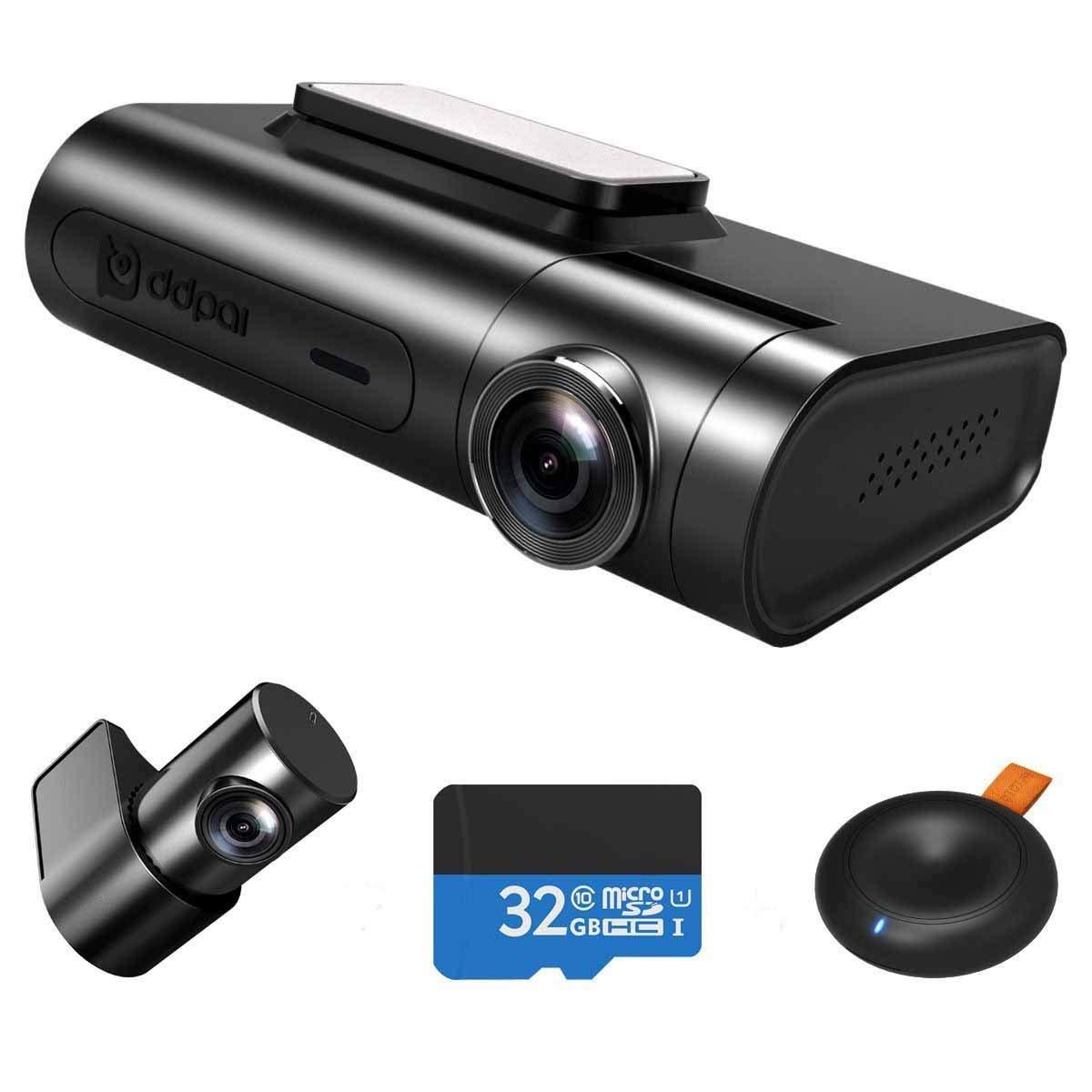Видеорегистратор на 2 камеры DDPai 2X Pro
