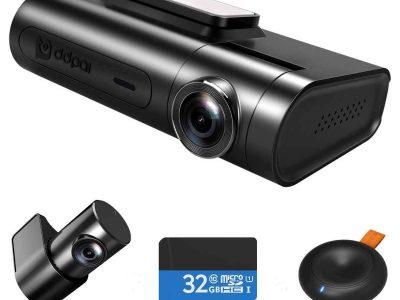 Видеорегистратор на 2 камеры DDPai 2X Pro Главная