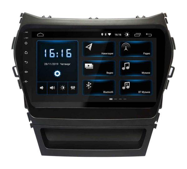 Штатная магнитола Hyundai Santa Fe (IX45) 2013+ (XTA-2409) INCar