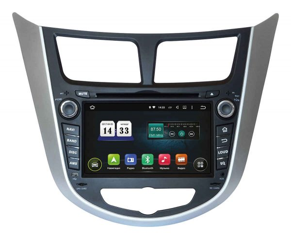 Штатная магнитола Hyundai Accent 2011+ (TSA-2487) INCar