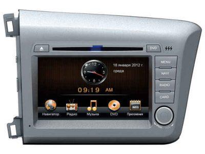 Штатная магнитола Honda Civic (4D) 2012+ Road Rover