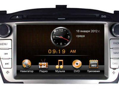 Штатная магнитола Hyundai ix35 Road Rover