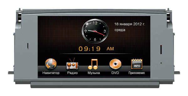 Штатная магнитола Mercedes C class (W204) 2007–2010 Road Rover