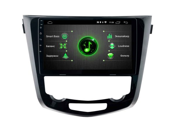 Штатная магнитола Nissan Qashqai Android 9 DSP (DTA-7710) INCar