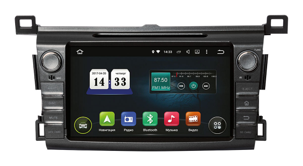 Штатная магнитола Toyota RAV4 2013+ (TSA-2255) INCar