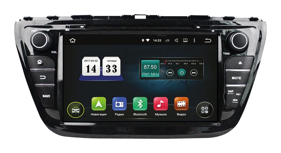 Штатная магнитола Suzuki SX4 2014+ (TSA-2780) INCar