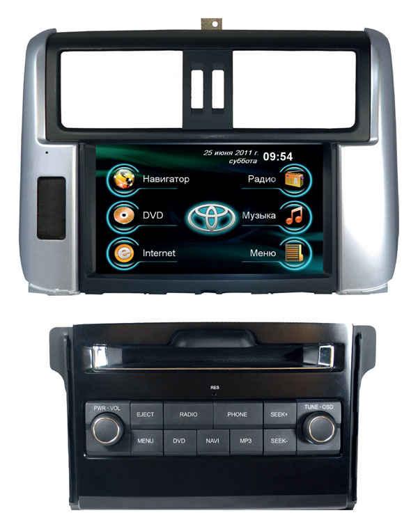 Штатная магнитола Toyota Land Cruiser 150 (Prado) Road Rover