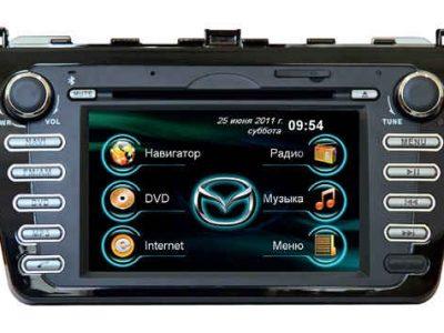 Штатная магнитола Mazda 6 2010–2011 Road Rover