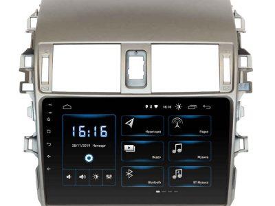 Штатная магнитола TOYOTA Corolla 2009-2012 (XTA-1441) INCar