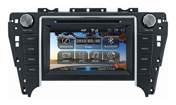 Штатная магнитола Toyota Camry 2012+ Road Rover