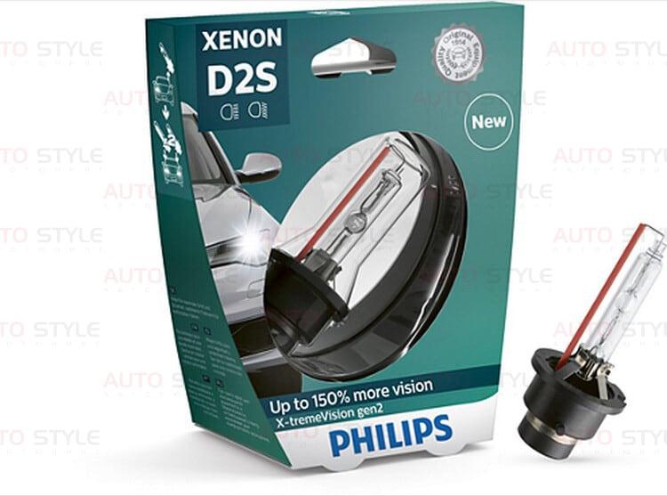 PHILIPS 85122XV2S1 D2S 85V 35W P32d-2 X-tremeVision gen2 +150% Автолампа ксенон PHILIPS 85122XV2S1 D2S 85V 35W P32d-2 X-tremeVision gen2 +150%