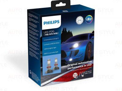LED лампы Philips X-treme Ultinon +250% H8/H11/H16 11366XUWX2 (2 шт.)