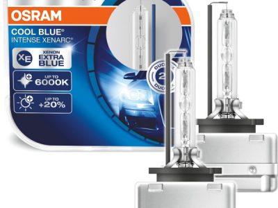 Штатные ксеноновые автолампы OSRAM 66140 Cool Blue Intense +20% D1S 85V 35W P32d-2 HardDuopet