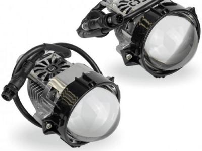 """Автомобильные линзы AMS Bi-LED i1 2.5"""" H7/H4"""