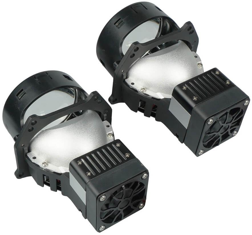 "AMS Bi-LED Z10 LASER 3"" F Светодиодные линзы AMS BI-LED Z10 LASER 3″"